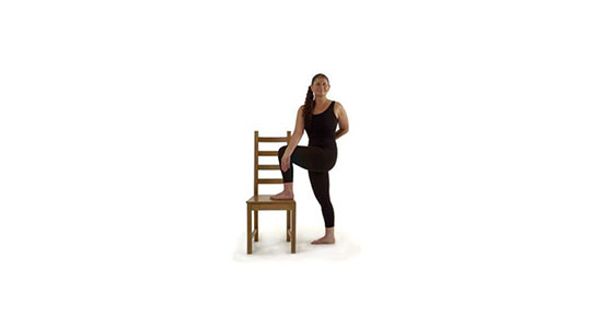 Yoga for Back Pain Joy Yoga Chair Position